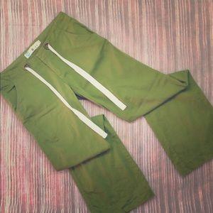Soft green Roxy pants